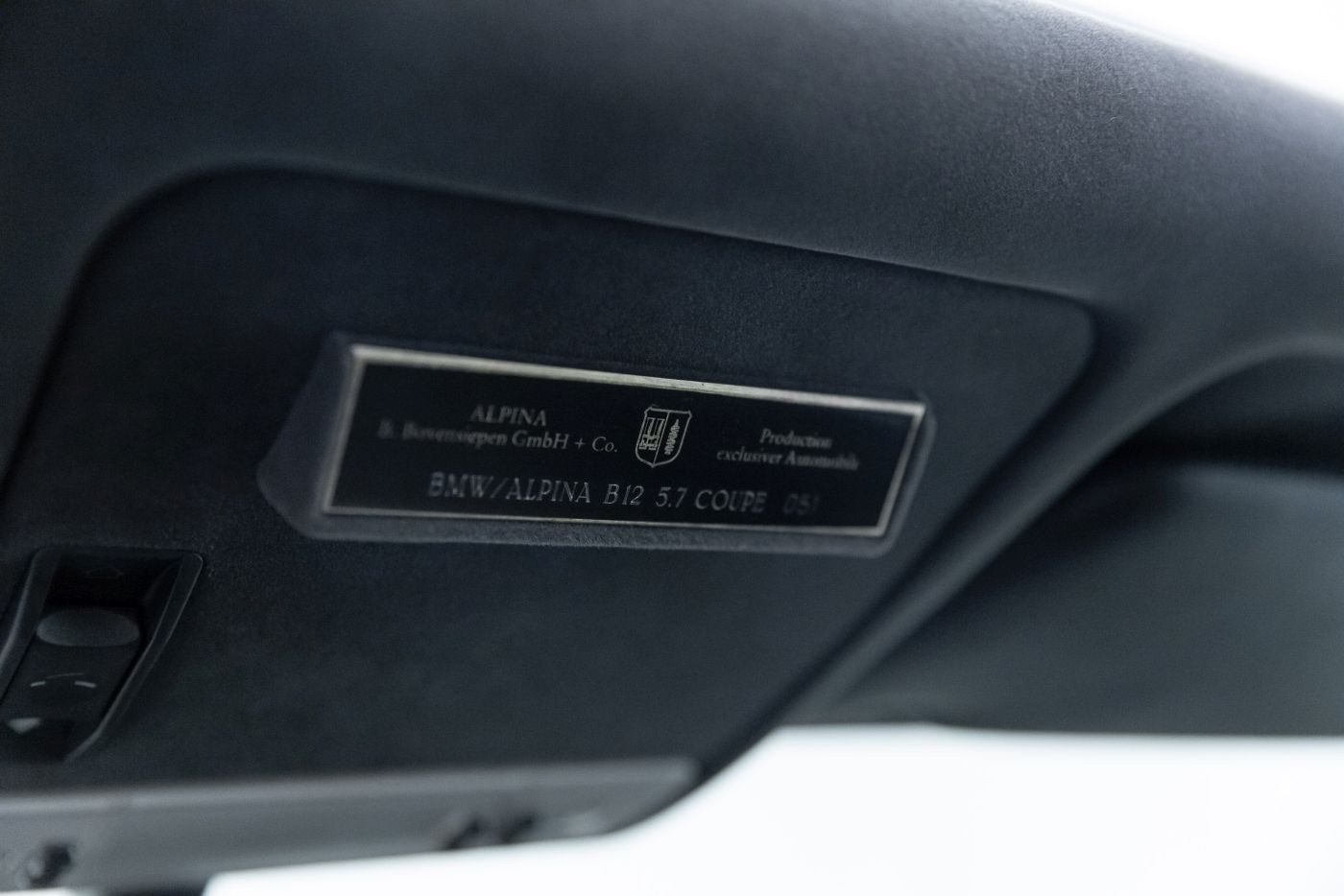 Alpina BMW Plakette