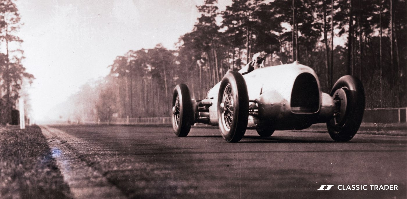 AVUS100 1934 Hans Stuck Auto Union Typ A Bau der AVUS