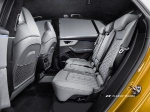 Audi Q8 50 TDI quattro Rückbank