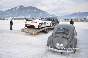 GP Ice Race 2020 - Maerati Vantage V8 Rally