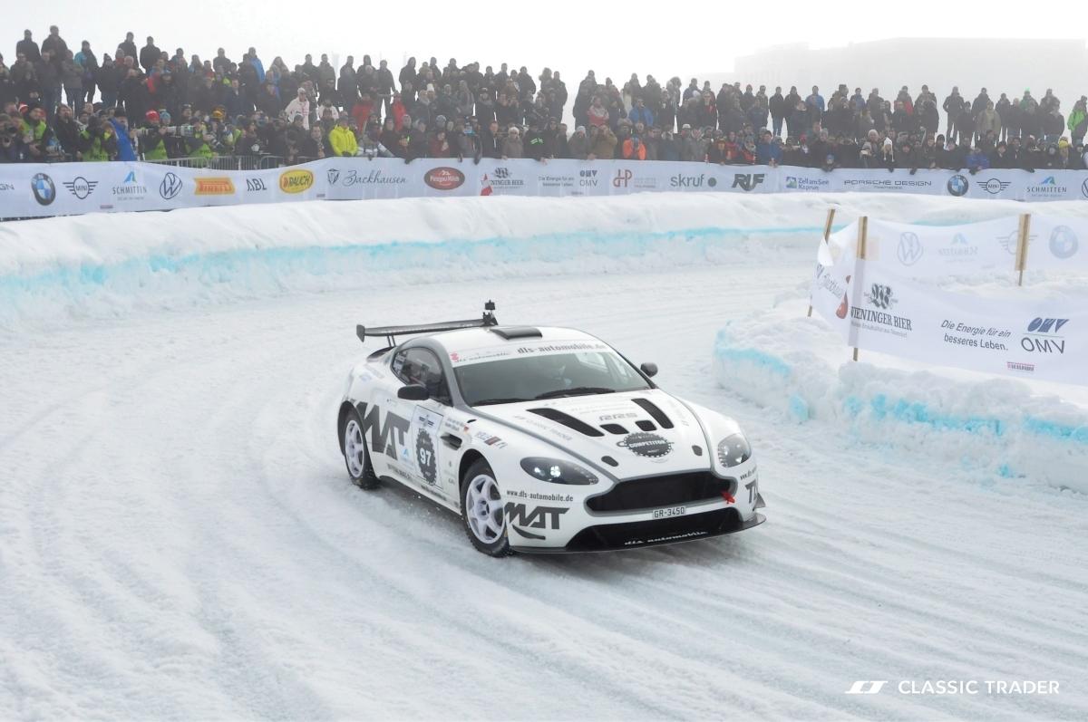 GP Ice Race 2020 - Aston Martin V8 Vantage Rally WRC - Classic Trader