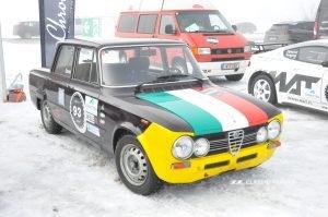 GP Ice Race 2020 - Alfa Romeo Giulia