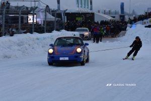 GP Ice Race 2020 - Porsche 911 964RS, Skijöring