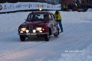 GP Ice Race 2020 - Saab 96 V4 , Skijöring