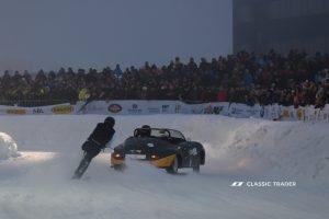 GP Ice Race 2020 - Porsche 356 Speedster , Skijöring