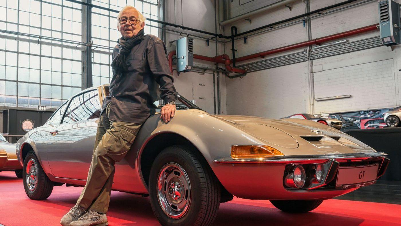 Erhard Schnell Opel GT Titel