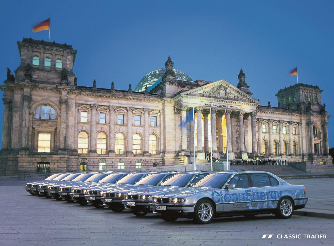 Alternative Antriebe BMW 750 hL E 38 Wasserstoff 2