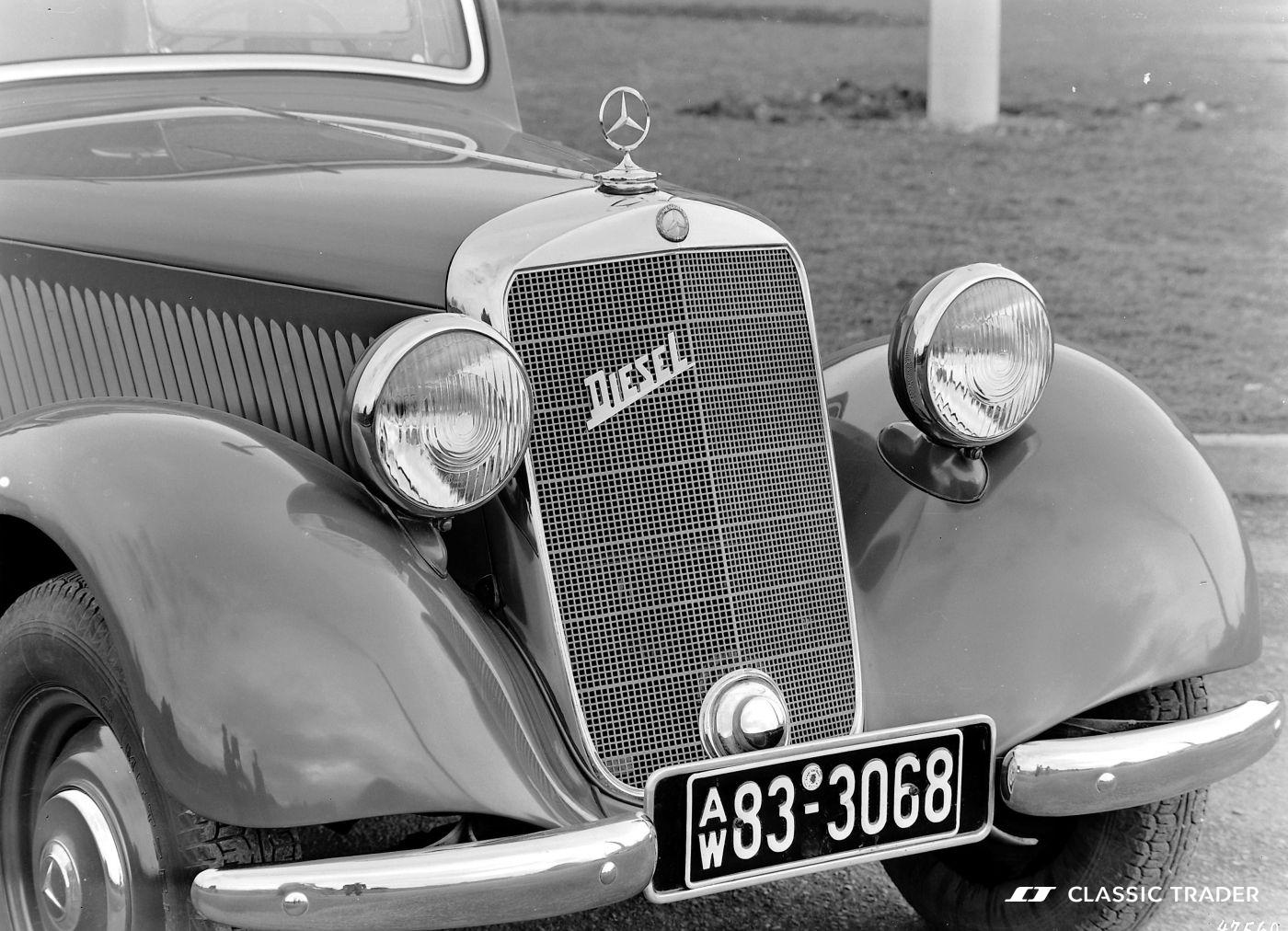 Alternative Antriebe Diesel Mercedes-Benz 170 D
