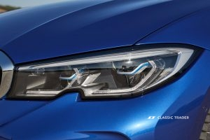 BMW 330i G20 Detail Scheinwerfer