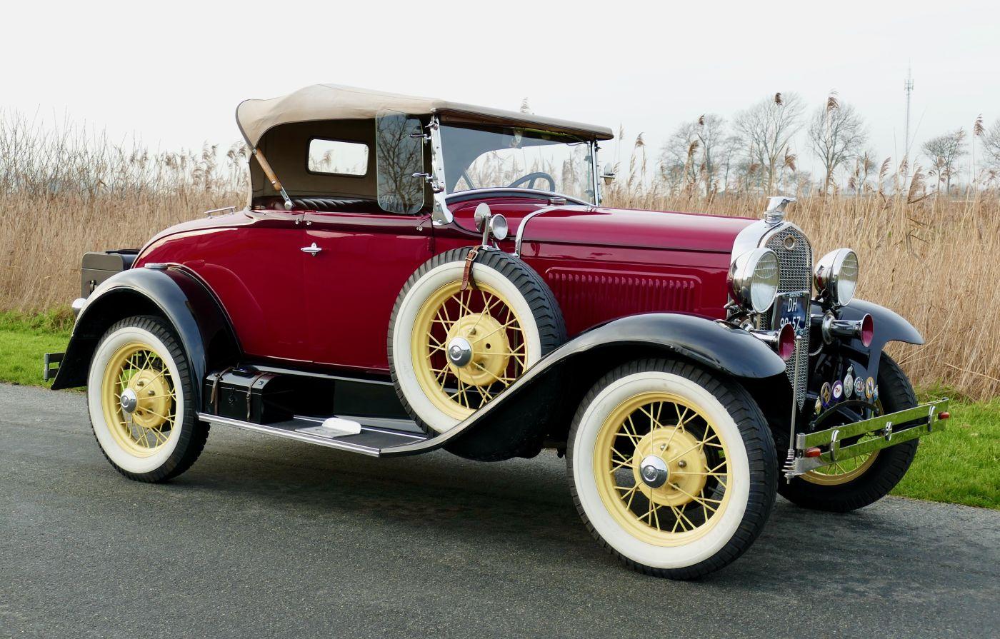Rahmenfahrzeuge Ford Modal A 1930 (3)