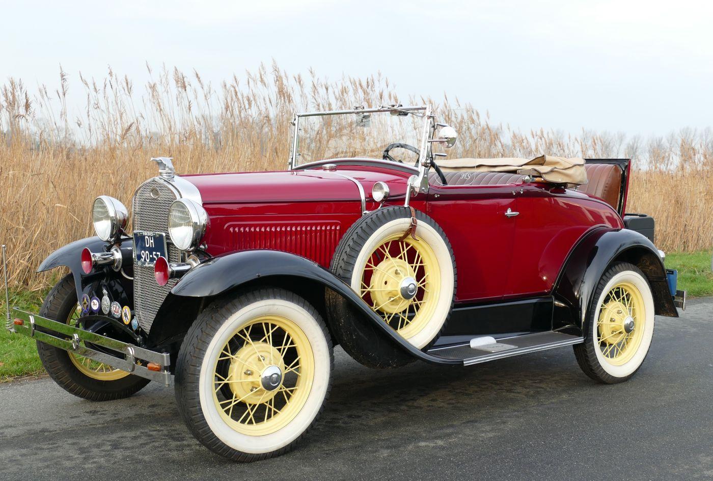 Rahmenfahrzeuge Ford Modal A 1930 (4)