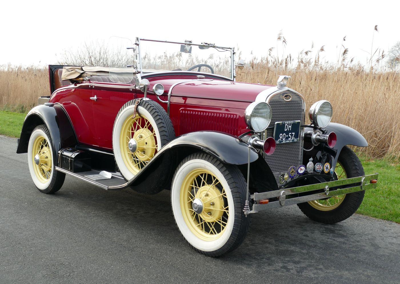 Rahmenfahrzeuge Ford Modal A 1930 (7)