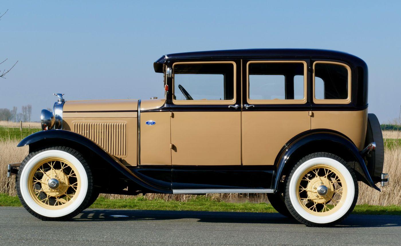 Rahmenfahrzeuge Ford Model A Sedan 1930 (10)