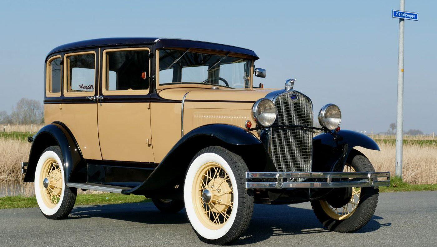 Rahmenfahrzeuge Ford Model A Sedan 1930