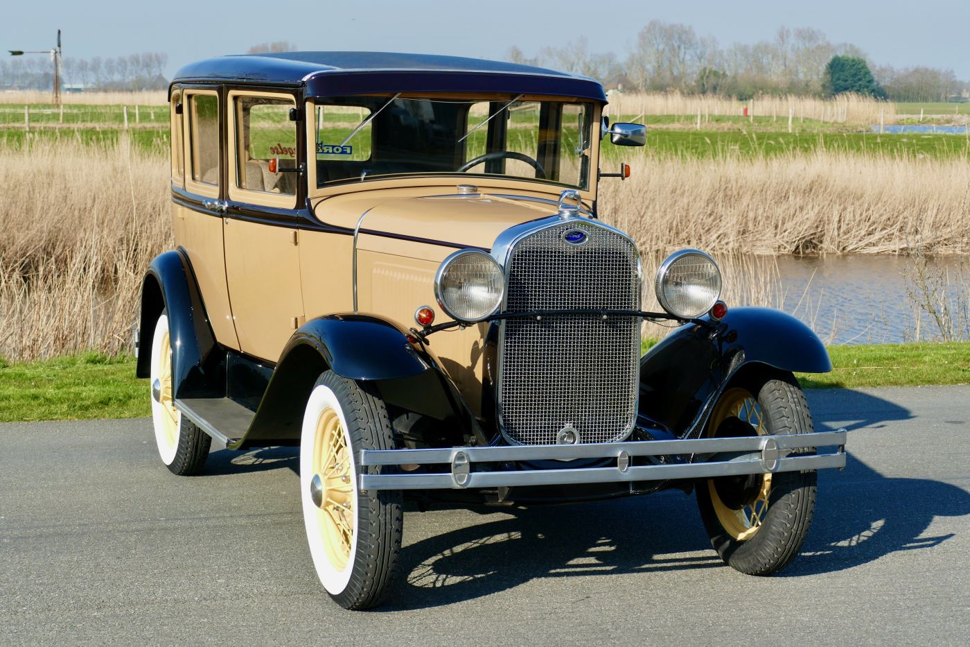 Rahmenfahrzeuge Ford Model A Sedan 1930 (7)