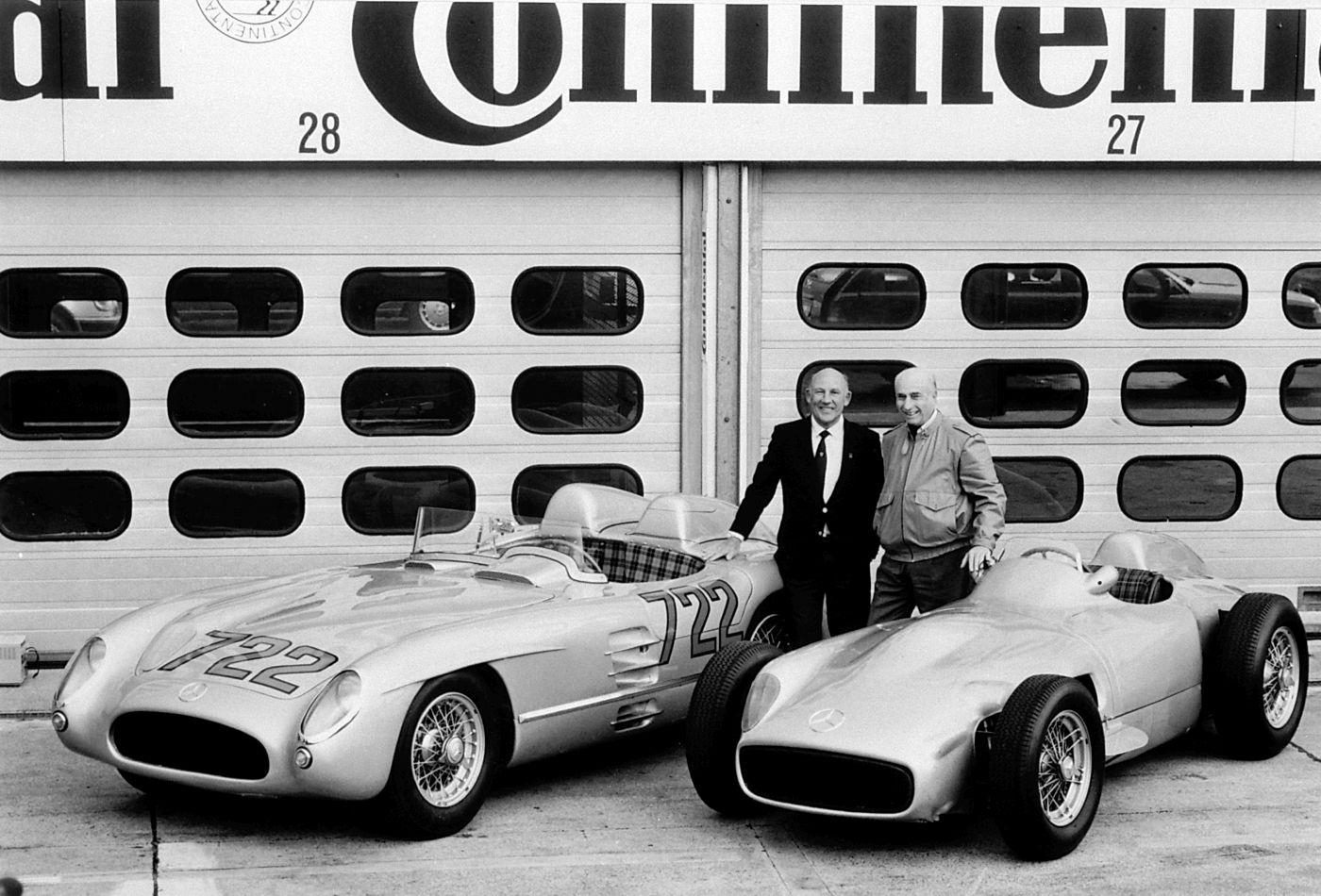 Sir Stirling Moss Juan-Manuel Fangio Mercedes-Benz (2)