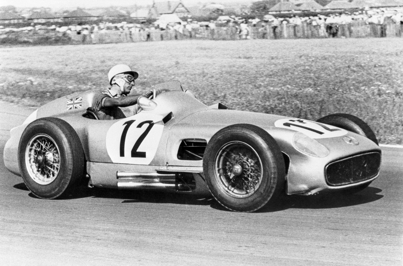 Sir Stirling Moss Mercedes-Benz 1955 Aintree (1)