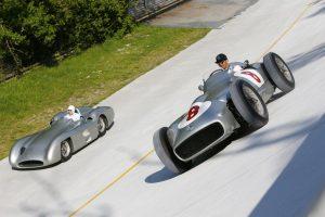 Sir Stirling Moss Lewis Hamilton Mercedes-Benz W 1(10)