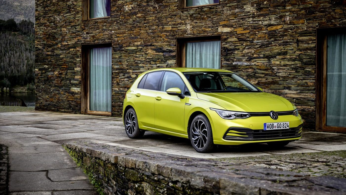 Volkswagen Golf VIII Limonengelb (1)