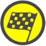 Rallye Zeichen