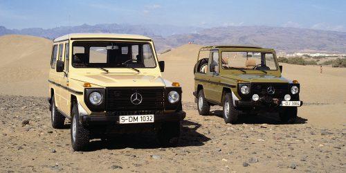 Wertstabile Klassiker Teil 7: Die Mercedes-Benz G-Klasse