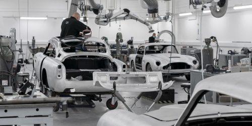 Aston Martin beginnt Produktion von 25 Aston Martin DB5 Goldfinger