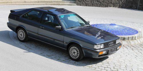 Kolumne Zeitsprünge | Audi Coupé B2 – Eleganz für die gesamte Familie