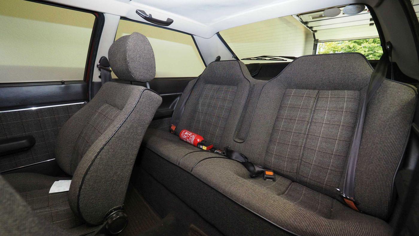 Audi Coupé B2 Interieur