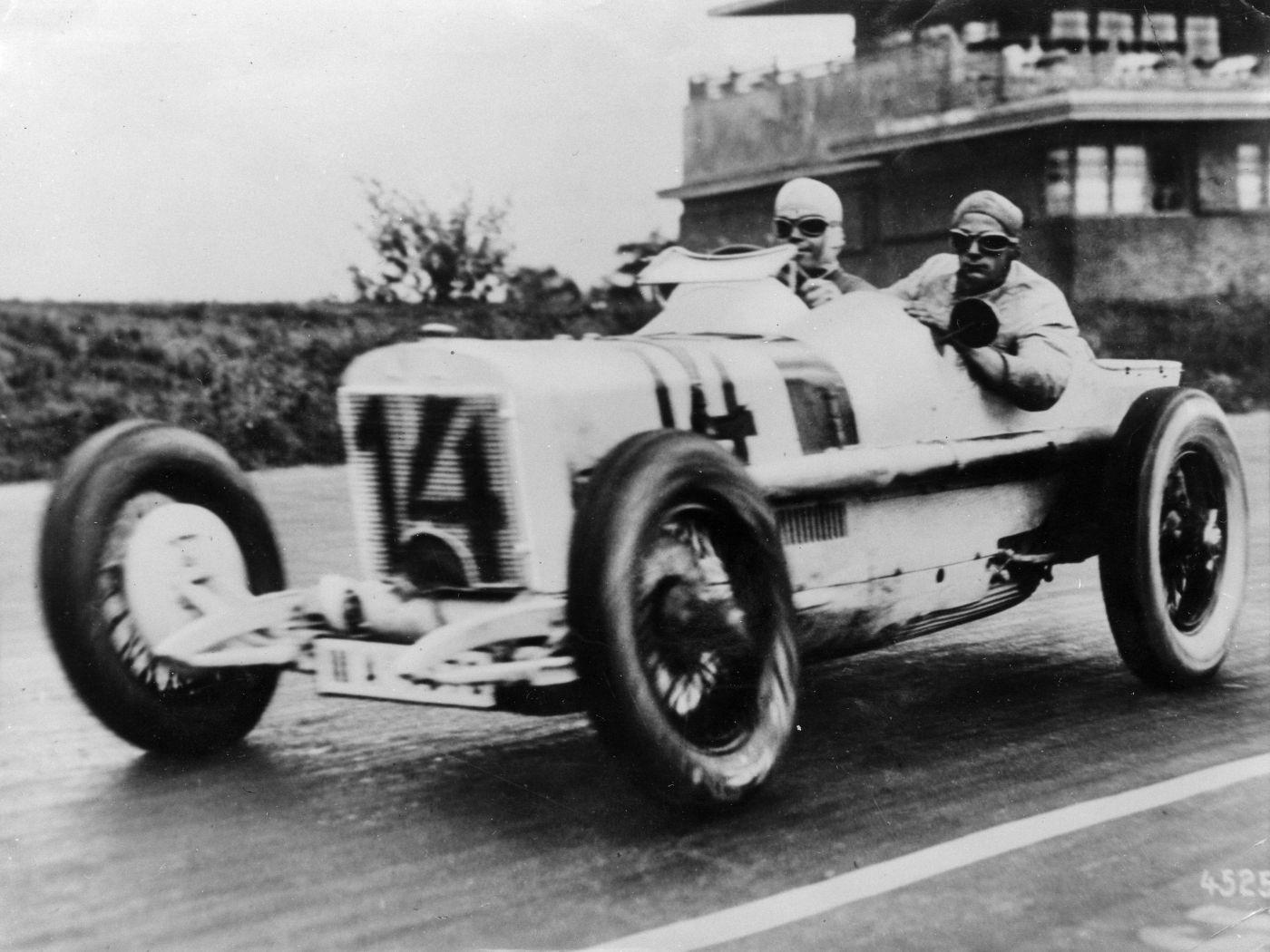 Eröffnung der AVUS 1926 Rudolf Caracciola Mercedes-Benz (1)