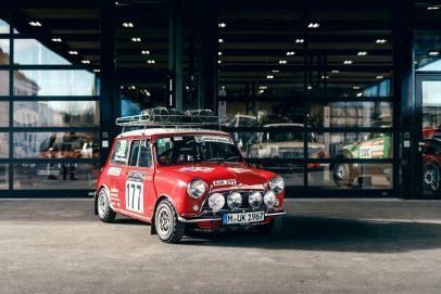 Inside BMW Group Classic Mini Cooper S 1967