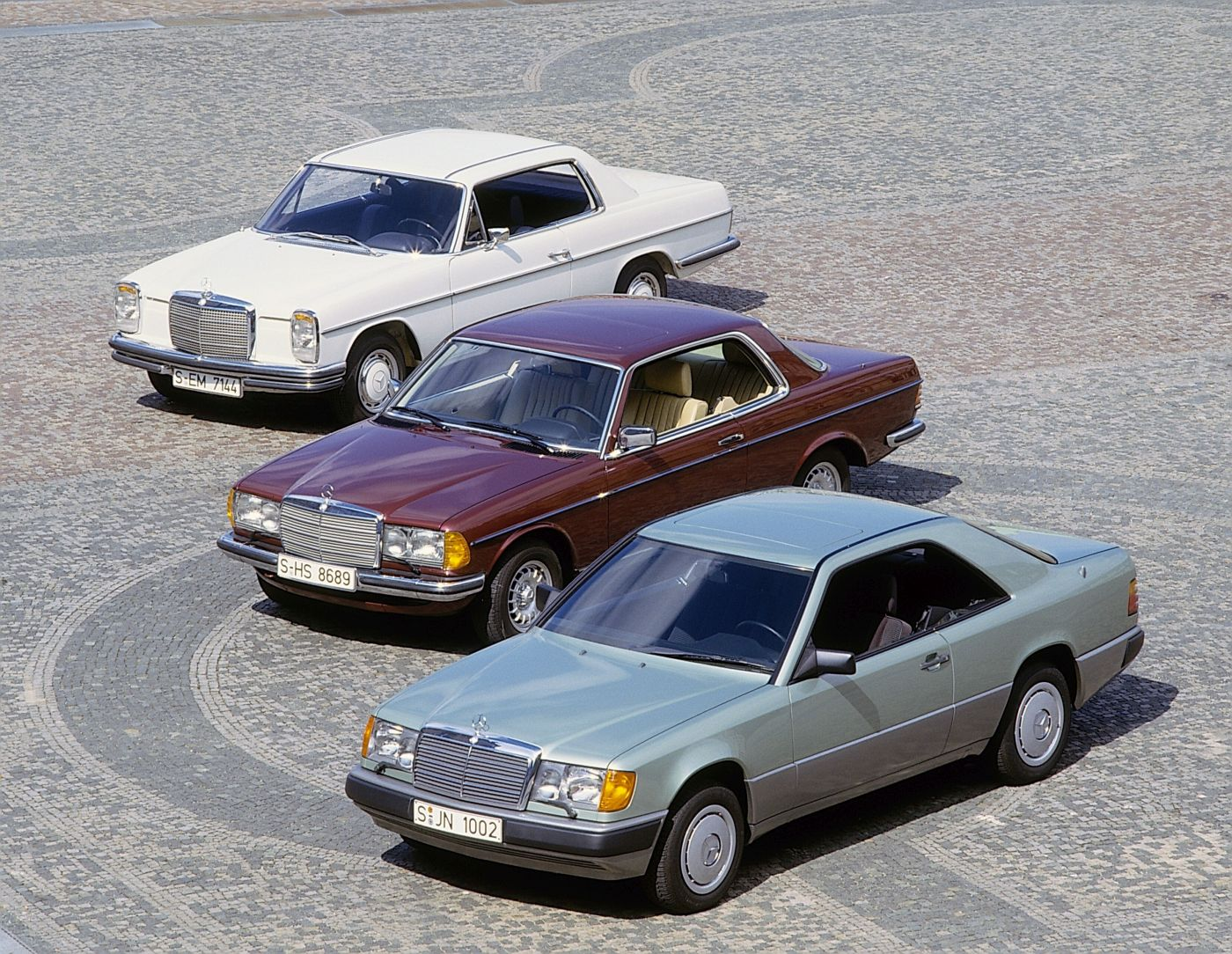 Mercedes-Benz C 124 123 Strich Acht Coupe (8)