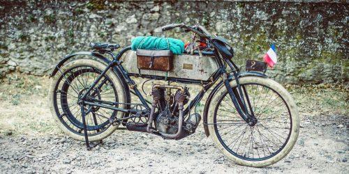 Als das Motorrad laufen lernte – Motorräder bis 1949
