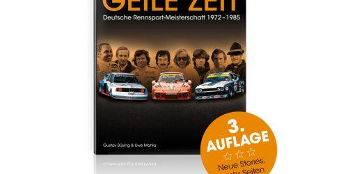 Buchtipp | Einfach eine geile Zeit: Deutsche Rennsport-Meisterschaft 1972-1985