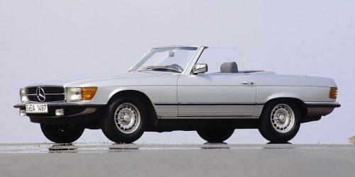 Kolumne Zeitsprünge | Viel Sonnenschein im Mercedes-Benz 380 SL R 107