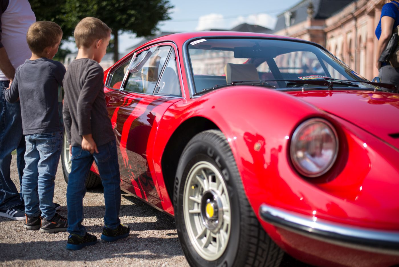 Classic-Gala Schwetzingen 2020 Ferrari Dino 208