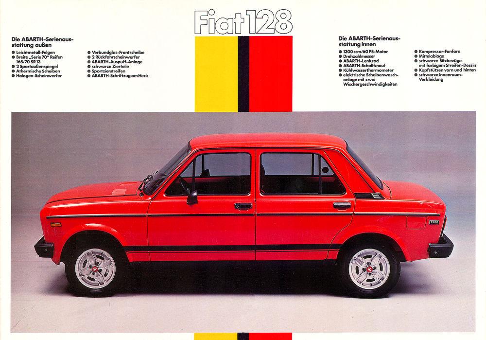 FIAT 128 Abarth Katalog