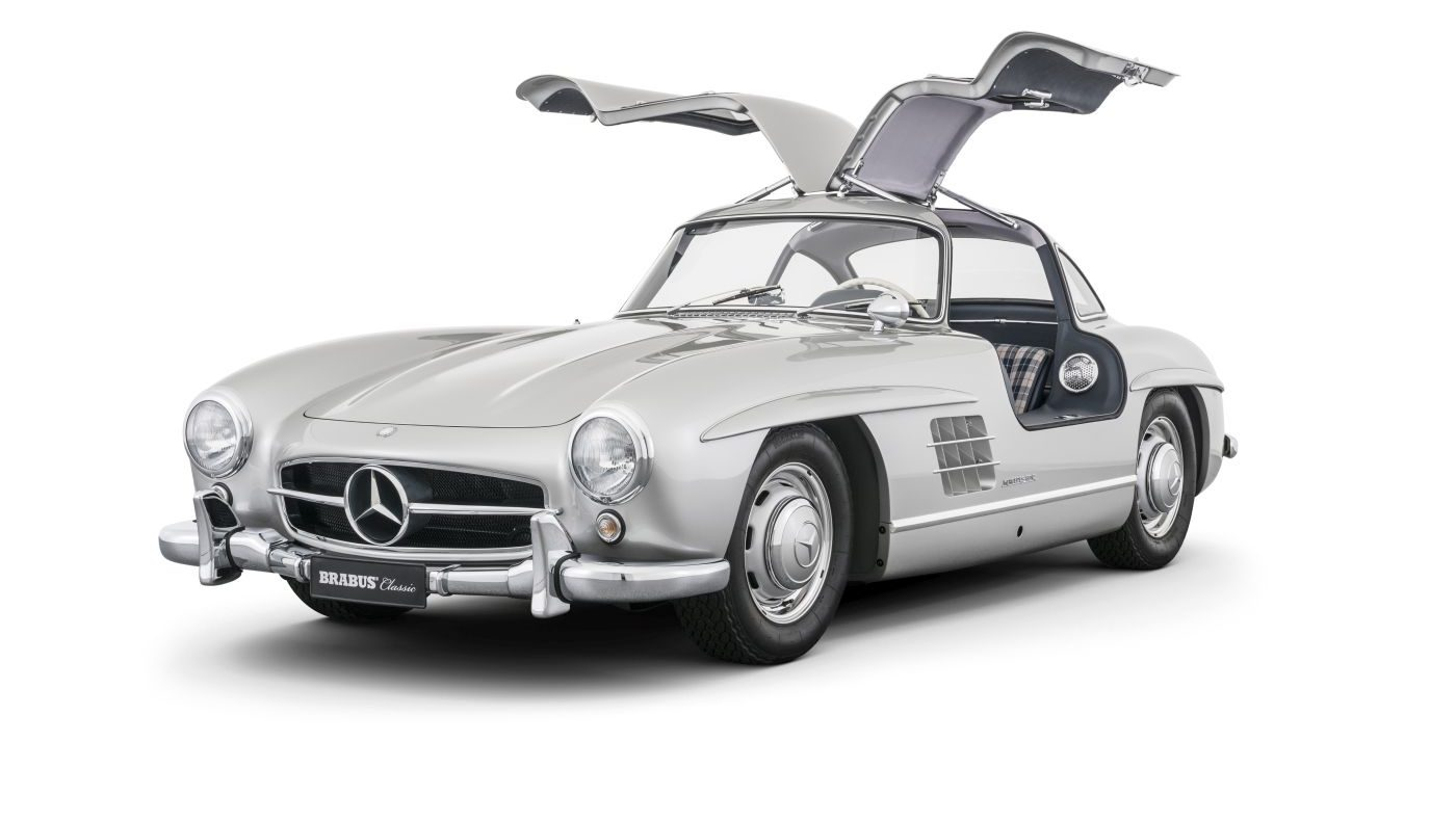 Mercedes-Benz 300 SL Flügeltürer 1955 W 198 (3)