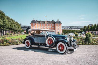 Classic-Gala Schwetzingen 2020 Cadillac 341A