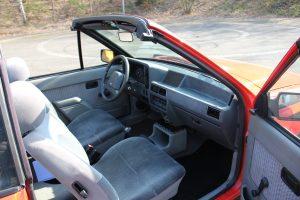 Ford Escort Cabriolet als Preis der Spendenaktion