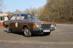 Ford Taunus 20 M als Preis der Spendenaktion