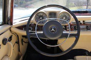 Mercedes-Benz 280 SE Coupé als Preis der Spendenaktion