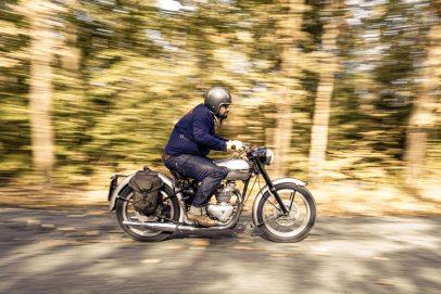 Motorräder der 50er Triumph 6T Thunderbird (6)