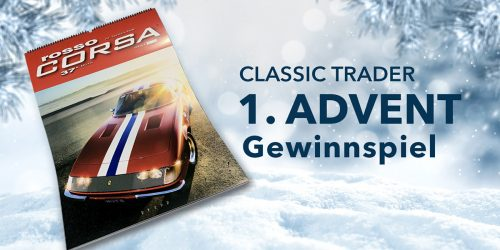 Die Classic Trader Adventsverlosung 2020 – 1. Advent