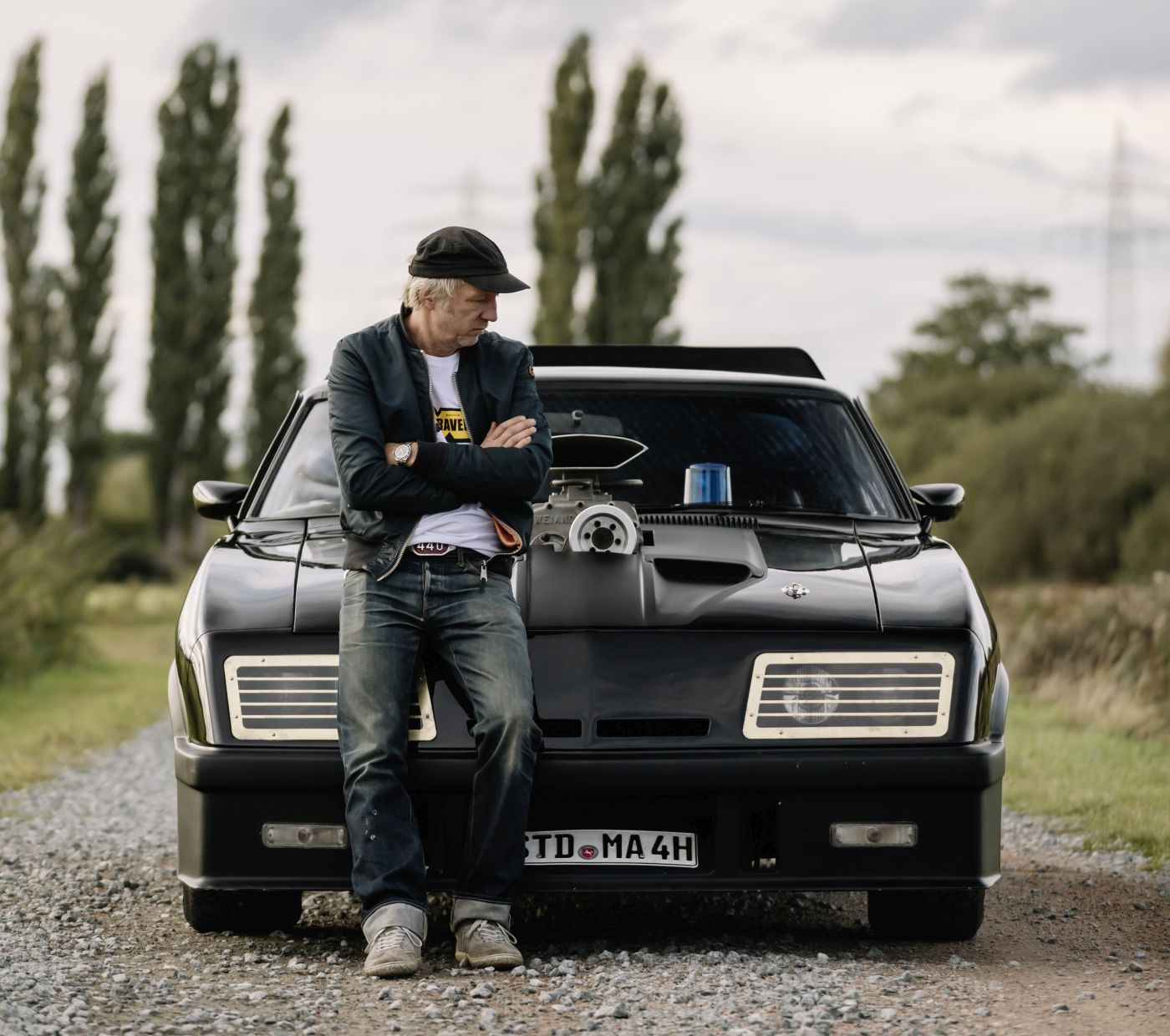 Mad Max 1974 Ford Falcon Police Interceptor Helge Thomsen