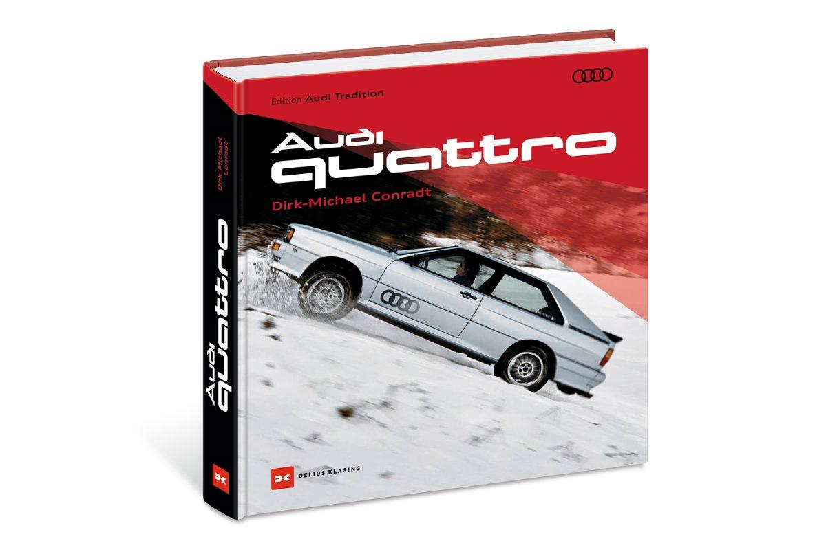 Audi quattro Cover Delius Klasing