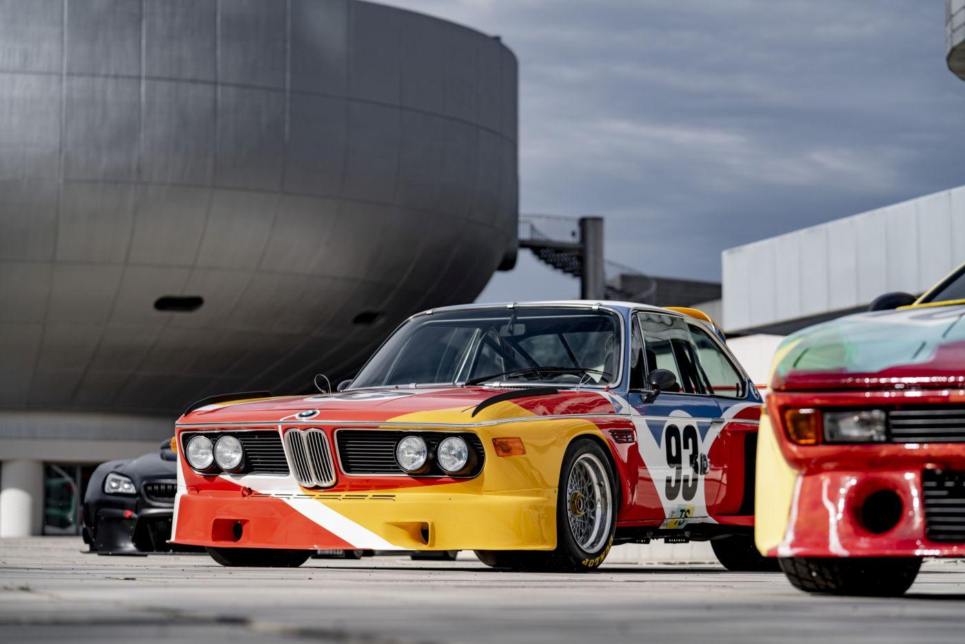 Formen und Farben der 70er BMW 3.0 CSL Art Car 2