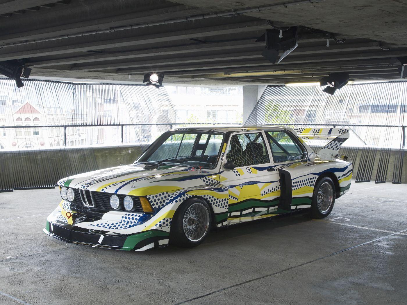 Formen und Farben der 70er BMW 3.0 CSL Art Car