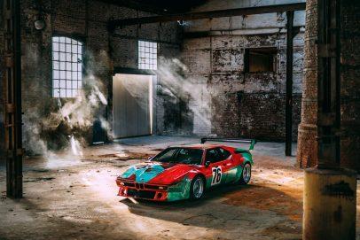 Formen und Farben der 70er BMW M1 Art Car 2