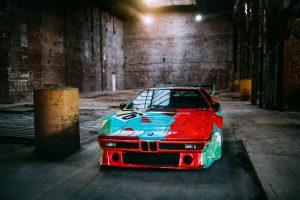 Formen und Farben der 70er BMW M1 Art Car 5