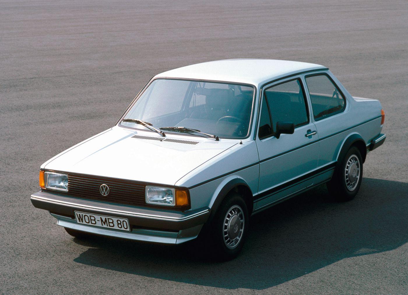 Formen und Farben der 70er Volkswagen Jetta VW (1)